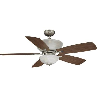 Durango 9-Light Brushed Nickel Ceiling Fan